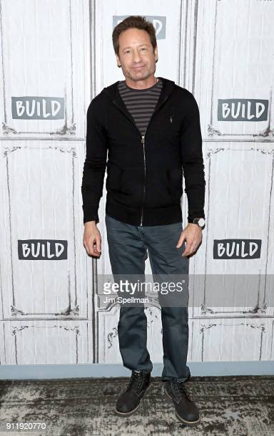 Singer/songwriter/actor David Duchovny attends the Build Series to discuss his new release 'Every Third Thought' at Build Studio on January 29 2018...