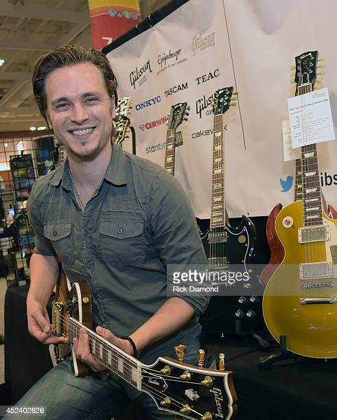 Singer/Songwriter/Actor Jonathan Jackson attends Music Industry Day At Summer NAMM With Performances By Singer/Songwriter Jonathan Jackson of ABC's...