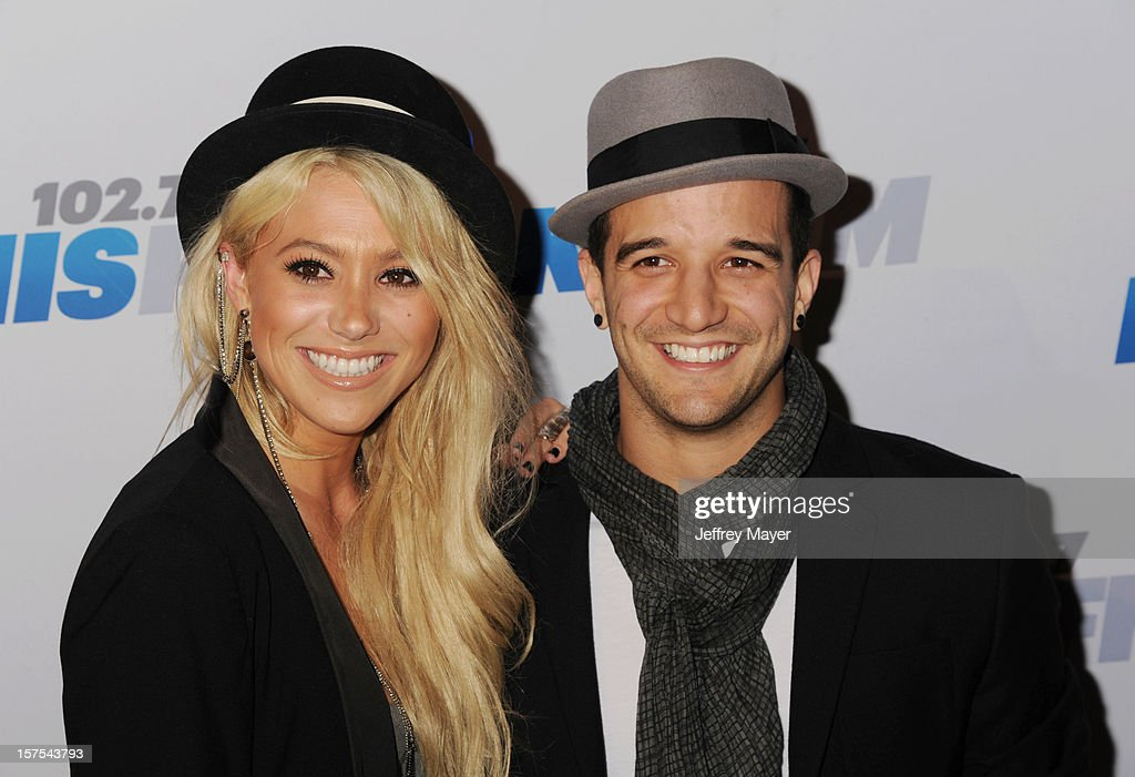 Singer/songwriter/actress BC Jean and dancer Mark Ballas attend the KIIS FM's Jingle Ball 2012 at Nokia Theatre LA Live on December 3, 2012 in Los Angeles, California.