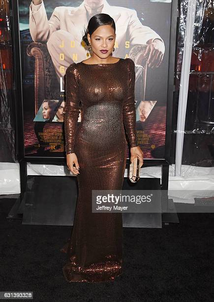 Singersongwriteractress Christina Milian arrives at the Premiere Of Warner Bros Pictures' 'Live By Night' at TCL Chinese Theatre on January 9 2017 in...