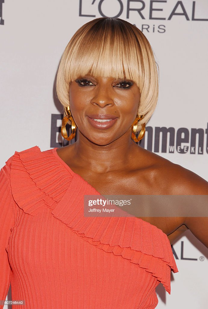 Singer/songwriter/actress/model Mary J. Blige attends the Entertainment Weekly's 2016 Pre-Emmy Party held at Nightingale Plaza on September 16, 2016 in Los Angeles, California.