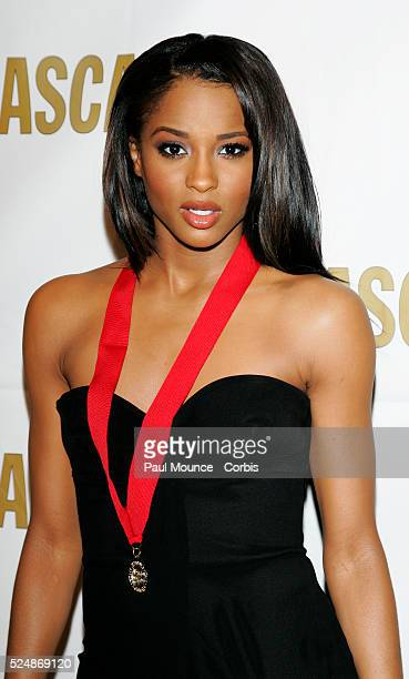 Singer/songwriter/composer Ciara arrives at the ASCAP Awards held at the Beverly Hilton Hotel in Beverly Hills