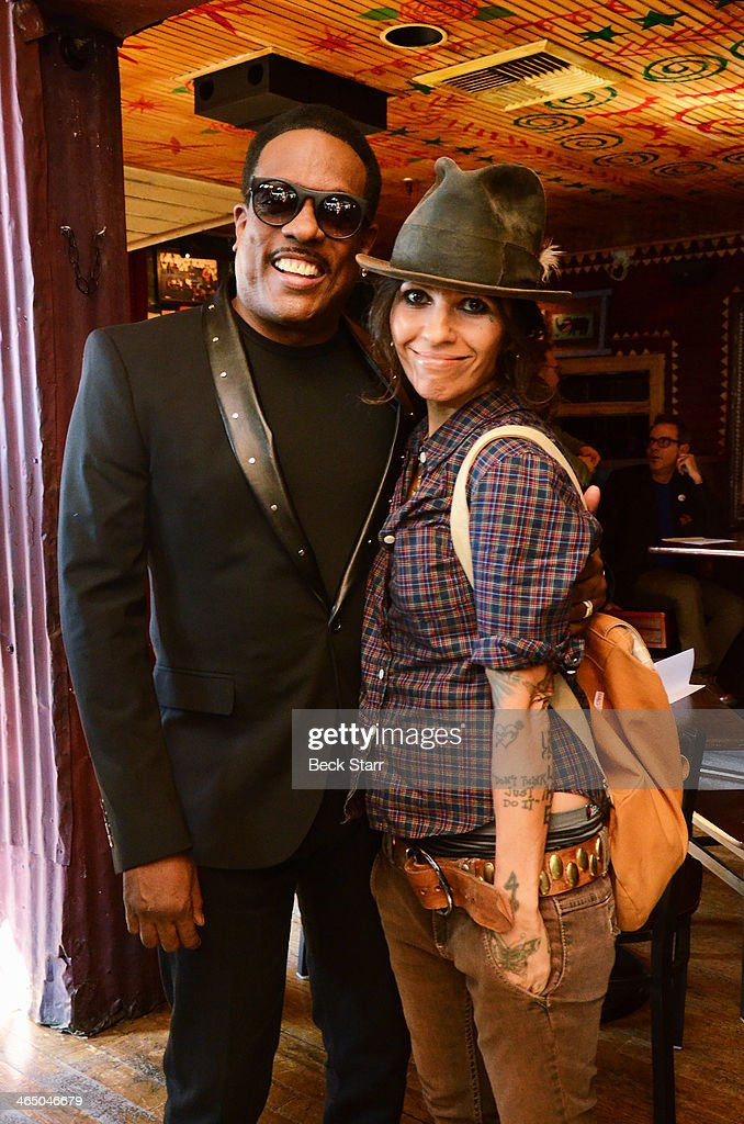 Singer/songwriter/music producer Charlie Wilson and singer/songwriter/music producer Linda Perry attend BMI Presents Annual 'How I Wrote That Song' Pre-Grammy Event at House of Blues Sunset Strip on January 25, 2014 in West Hollywood, California.