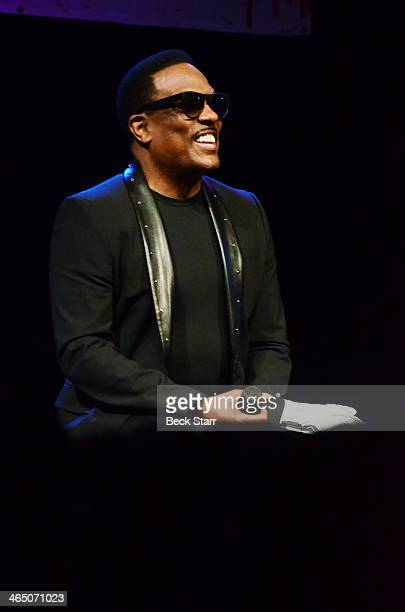Singer/songwriter/music producer Charlie Wilson attends BMI Presents Annual 'How I Wrote That Song' PreGrammy panel discussion at House of Blues...