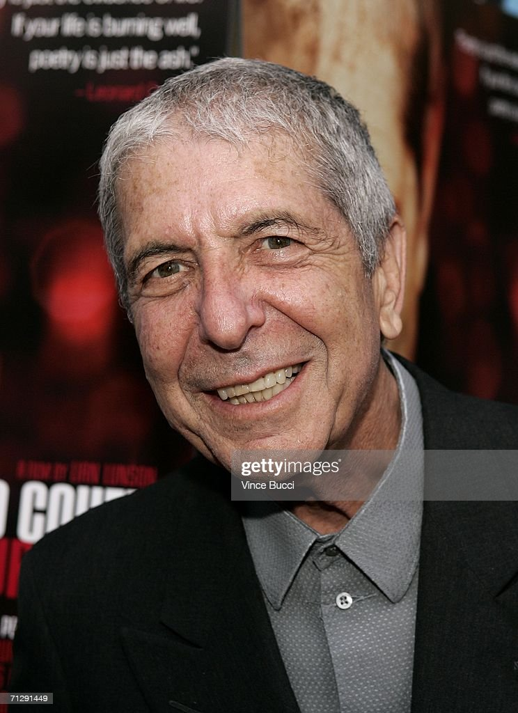 "Premiere Of ""Leonard Cohen I??m Your Man"" - Arrivals"