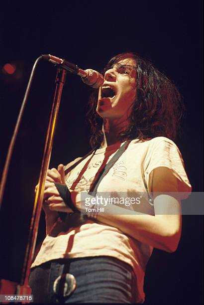 Patti Smith performs at Alex Cooley's Electric Ballroom