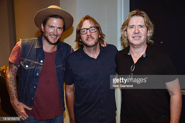 Singer/Songwriter/Producer Butch Walker Producer Brendan O'Brien and Producer Steve Lillywhite during GRAMMY GPS A Road Map For Today's Music Pro at...