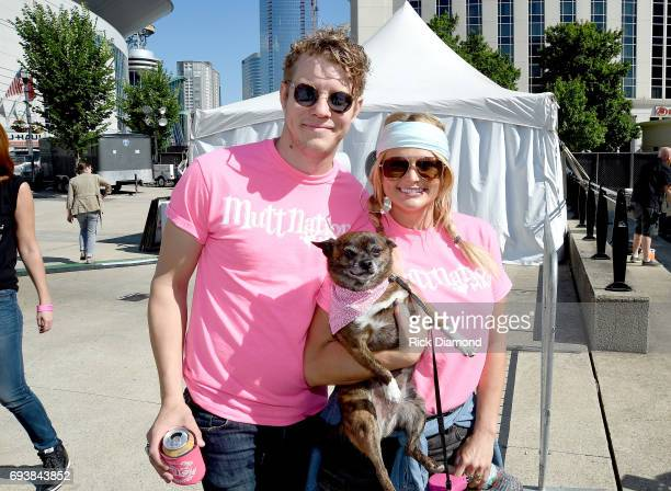 Singersongwriters Anderson East and Miranda Lambert attend the Miranda MuttNation March at Nissan Stadium on June 8 2017 in Nashville Tennessee