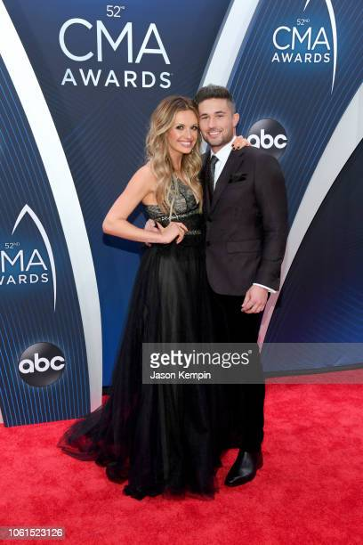 Singersongwriters Carly Pearce and Michael Ray attend the 52nd annual CMA Awards at the Bridgestone Arena on November 14 2018 in Nashville Tennessee