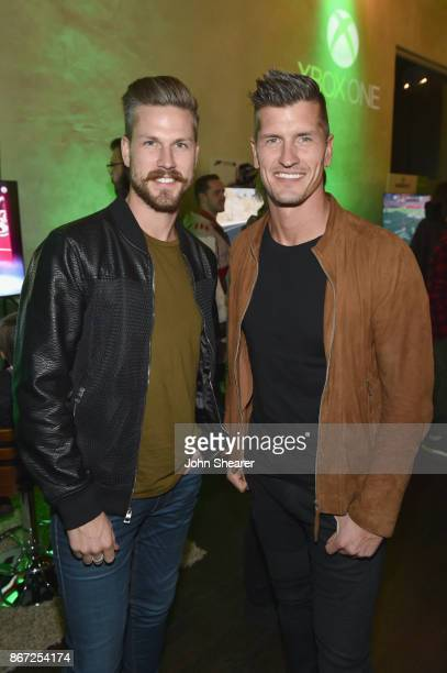 Singersongwriters Curtis Rempel and Brad Rempel of High Valley attend the Xbox Halloween Gaming Event hosted by Brad Paisley and Kimberly...