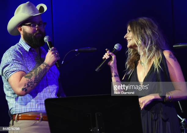 Singer/Songwriters Josh Hedley and Elizabeth Cook perform during 18th Annual Americana Music Festival Conference Mike Judge Presents Tales From The...