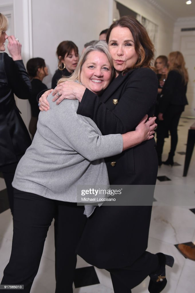 Singer-songwriters Liz Rose and Patty Smyth attend the Country Music Hall Of Fame And Museum Reception With Carly Pearce For All For The Hall New York on February 12, 2018 in New York City.