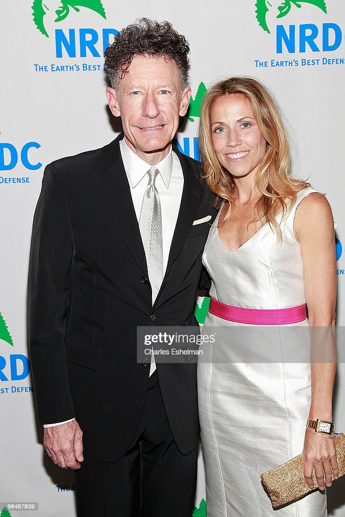 Singer/songwriters Lyle Lovett and Cheryl Crow attend the 12th annual 'Forces for Nature' gala benefit at Pier Sixty at Chelsea Piers on April 15, 2010 in New York City.