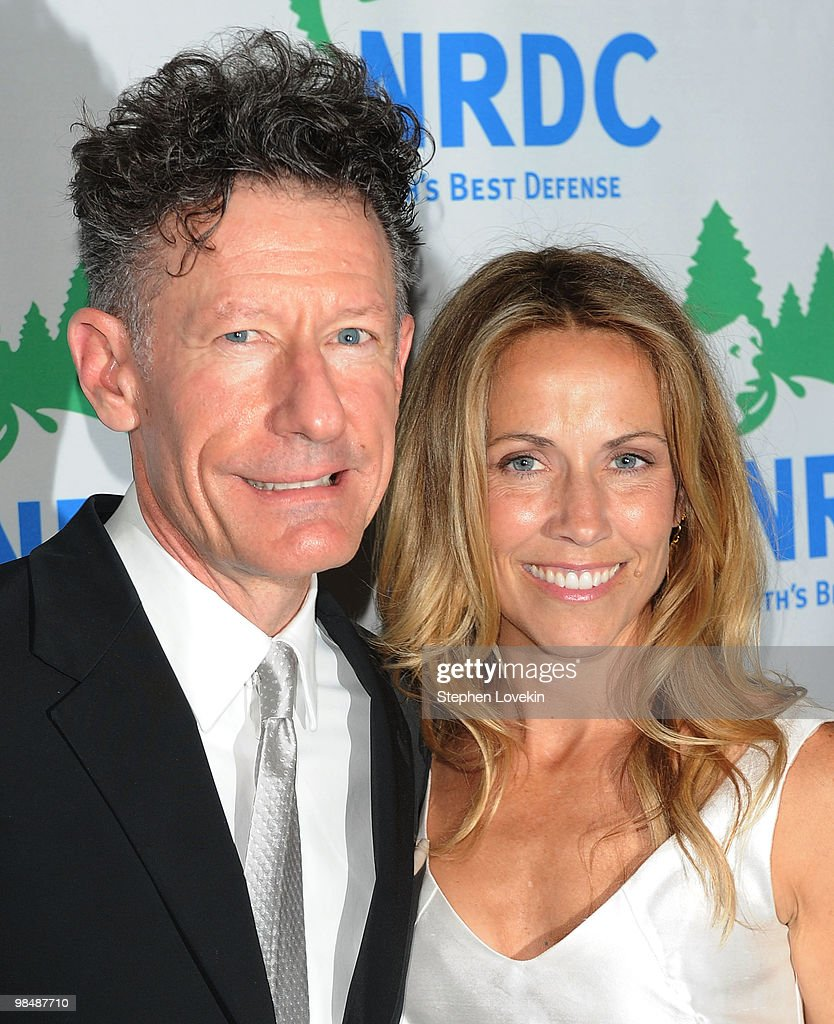 Singer/songwriters Lyle Lovett and Sheryl Crow attend the Natural Resources Defense Council's 12th annual 'Forces for Nature' gala benefit at Pier Sixty at Chelsea Piers on April 15, 2010 in New York City.