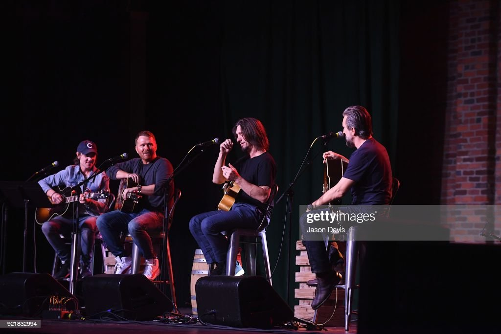 CMA Songwriters Series Celebrates CMA's Ninth Annual Triple Play Awards : News Photo