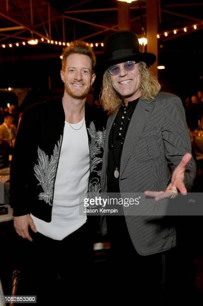 Singersongwriters Tyler Hubbard of musical group Florida Georgia Line and Big Kenny of musical group Big Rich attend the 2018 Inspire event by The...