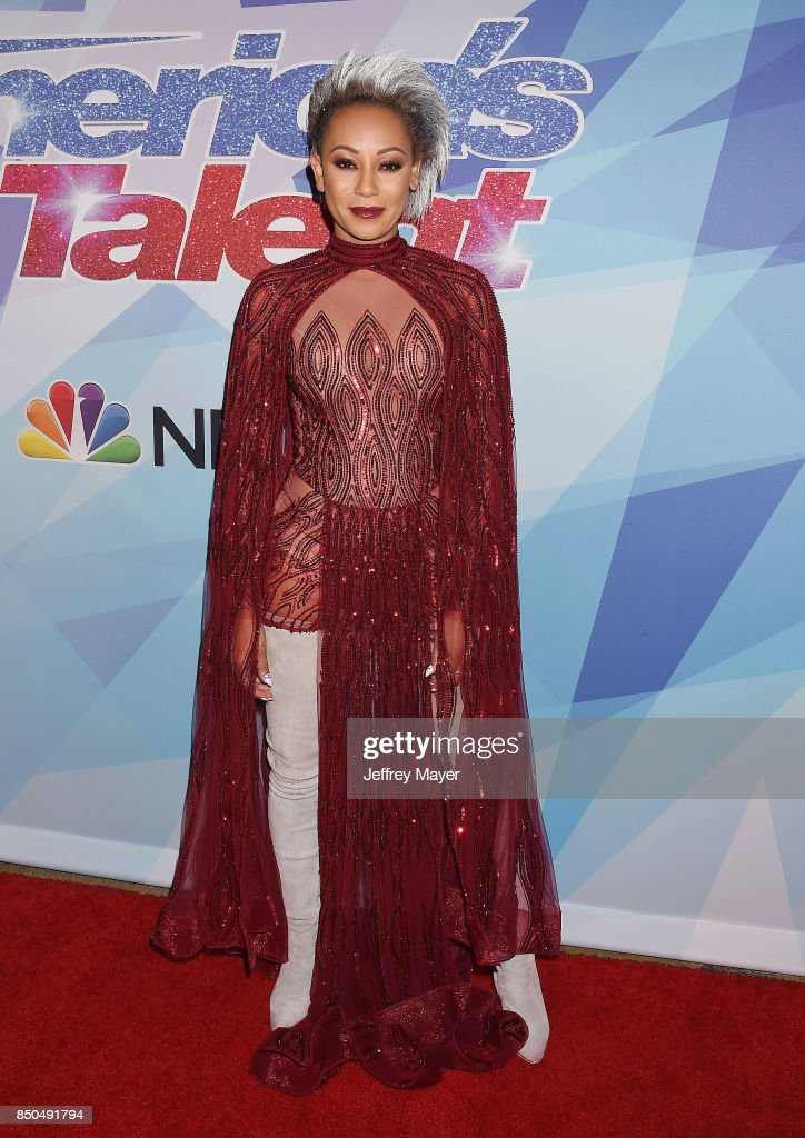 Singer-songwriter-TV personality Mel B attends NBC's 'America's Got Talent' Season 12 Finale at the Dolby Theatre on September 20, 2017 in Hollywood, California.