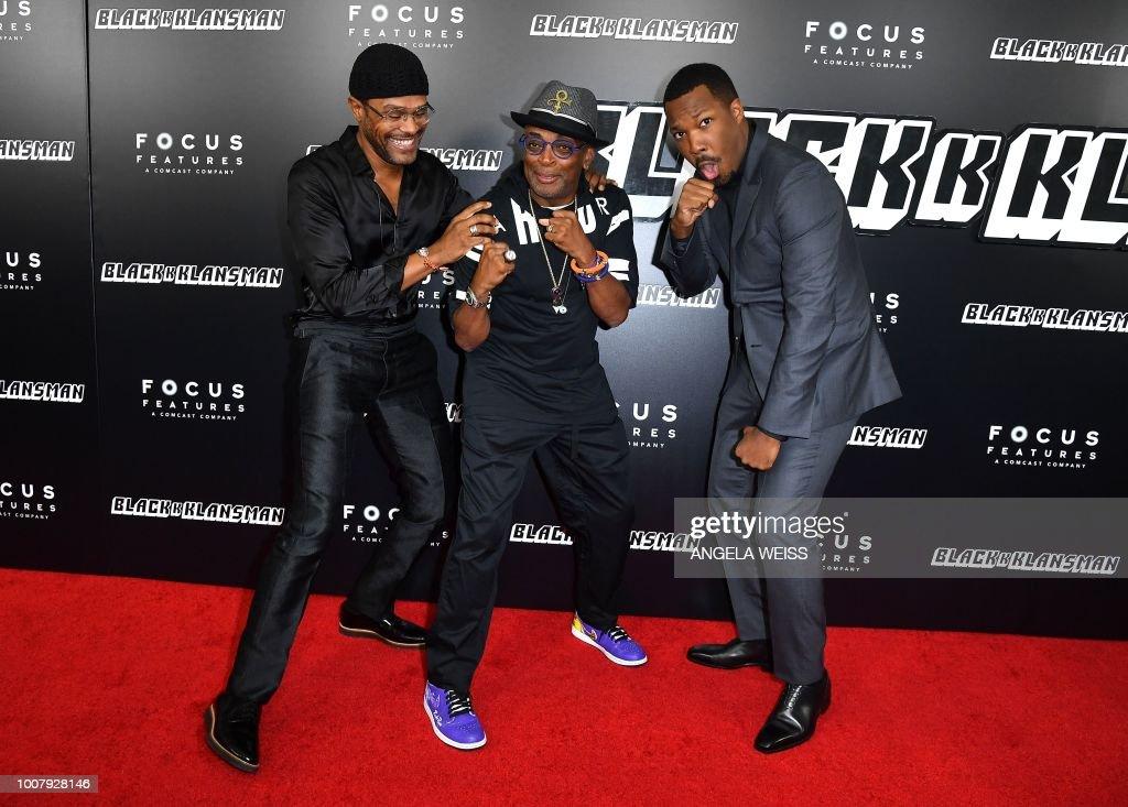 """BlacKkKlansman"" New York Premiere"