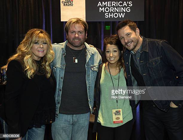 Singers/Songwriters 3 Story House Jamie O'Neil Andy Griggs Radio personality and Ty Herndon attend Red Carpet Radio Presented By Westwood One For The...