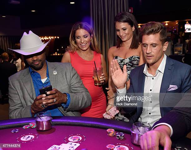 Singers/Songwriters Cowboy Troy and Jessie James Decker, Sydney James and former Vanderbilt quarterback Jordan Rodgers attend, On Deck With The...