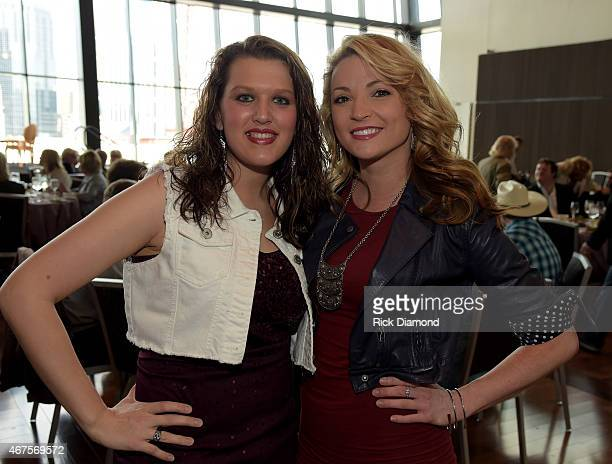 Singers/Songwriters Kacey Smith and Karen Waldrup attend the CMA announcement that JIM ED BROWN AND THE BROWNS GRADY MARTIN AND THE OAK RIDGE BOYS...