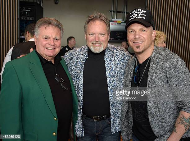 Singers/Songwriters Leroy Van Dyke John Berry and Preston Burst of LOCASH attend the CMA announcement that JIM ED BROWN AND THE BROWNS GRADY MARTIN...