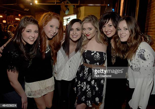 """Singers/Songwriters 'Soul Suffragettes"""" Caroline Cole, Kalie Shorr, Megan & Liz, Carly Pearce and Jillian Jacqueline perform during the 6th Annual..."""