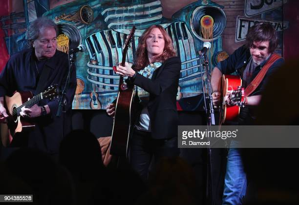 Singers/Songwriters Tommy Talton Michele Malone and Luther Dickerson perform at Old Florida Fish House during the 9th Annual 30A Songwriters Festival...