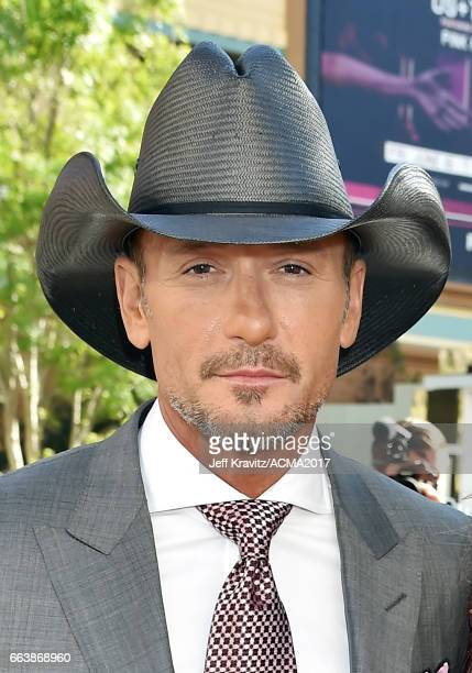 SingerTim McGraw attends the 52nd Academy Of Country Music Awards at Toshiba Plaza on April 2 2017 in Las Vegas Nevada