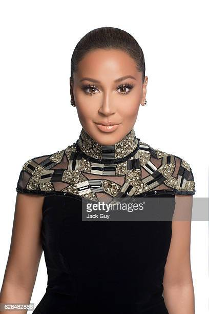 Singer/TV host Adrienne Bailon is photographed for Latina Magazine on May 21 2014 in New York City COVER IMAGE