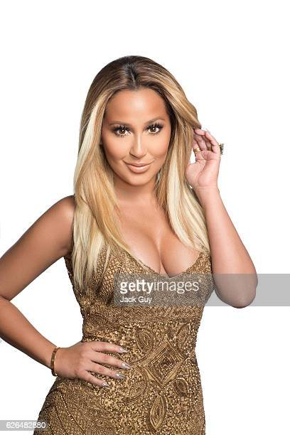 Singer/TV host Adrienne Bailon is photographed for Latina Magazine on May 21 2014 in New York City