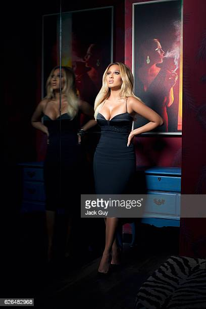 Singer/TV host Adrienne Bailon is photographed for Latina Magazine on May 21 2014 in New York City PUBLISHED IMAGE