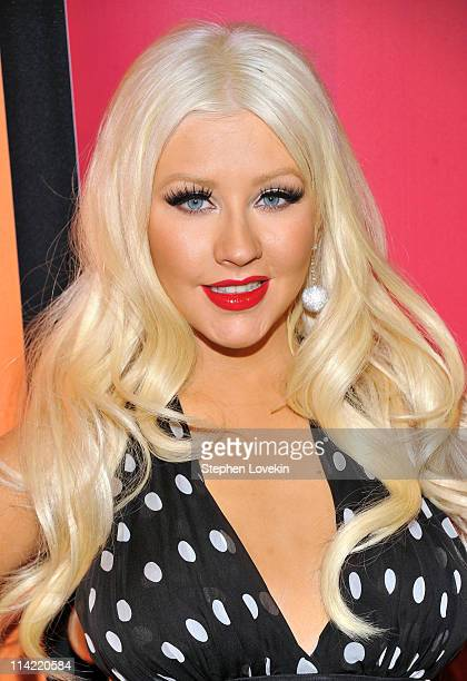 Singer/TV personality Christina Aguilera attends the 2011 NBC Upfront at The Hilton Hotel on May 16 2011 in New York City
