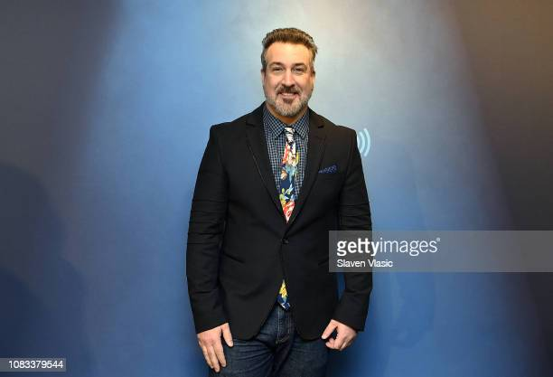 Singer/TV personality Joey Fatone visits Morning Mash Up at SiriusXM Studios on January 16 2019 in New York City