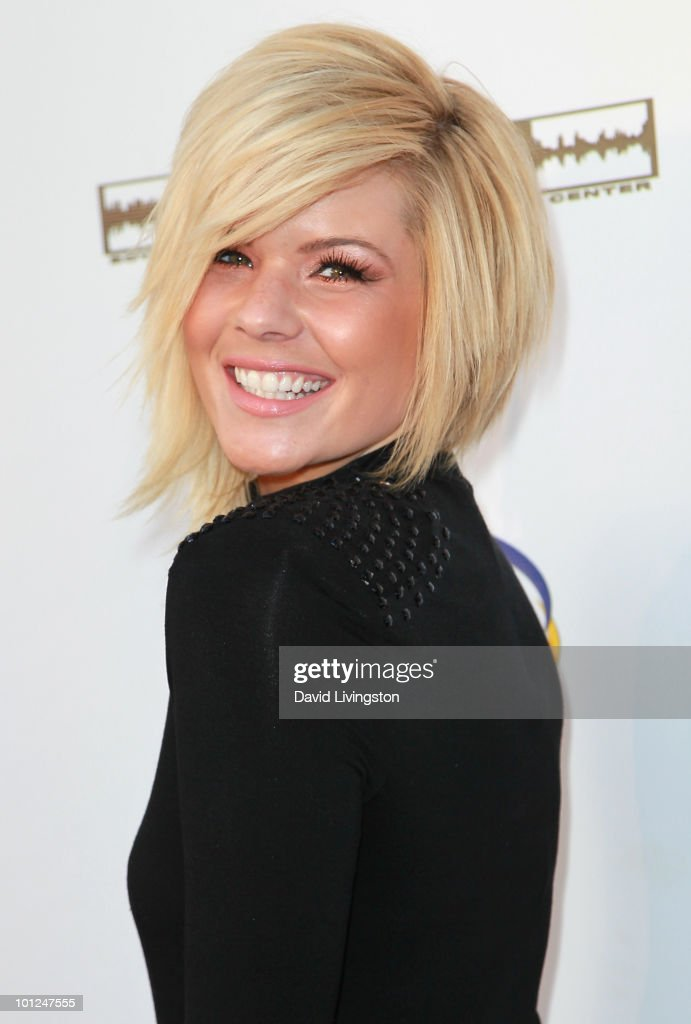 Singer/TV personality Kimberly Caldwell attends the 4th Annual Community Awards Red Carpet Gala at the Boyle Heights Technology Youth Center on May 28, 2010 in Los Angeles, California.