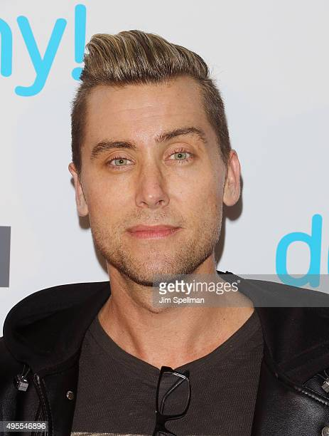 Singer/TV personality Lance Bass attends the USA Network hosts the premiere of Donny at The Rainbow Room on November 3 2015 in New York City