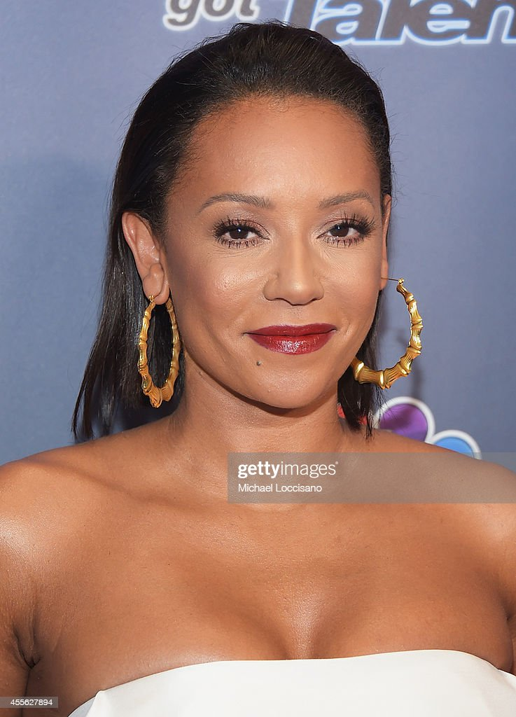 Singer/TV personality Melanie Brown aka Mel B attends the 'America's Got Talent' season 9 finale red carpet event at Radio City Music Hall on September 17, 2014 in New York City.