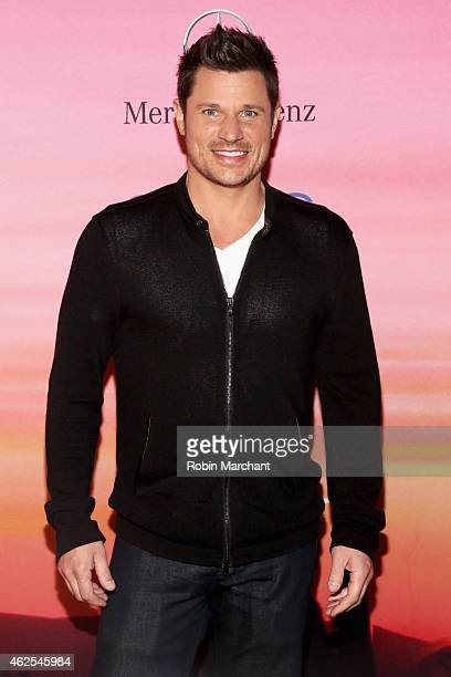 Singer/TV personality Nick Lachey attends ESPN the Party at WestWorld of Scottsdale on January 30, 2015 in Scottsdale, Arizona.
