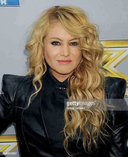 Singer/TV personality Paulina Rubio attends FOX's 'The X Factor' season finale at CBS Television City on December 19 2013 in Los Angeles California