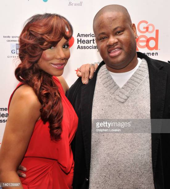 Singer/TV personality Tamar Braxton and producer/TV personality Vincent Herbert attend the American Heart Association's 2012 New York City Go Red for...