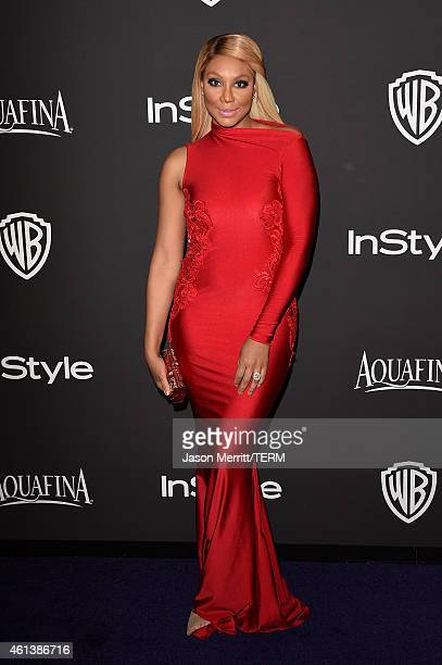 Singer/TV Personality Tamar Braxton attends the 2015 InStyle And Warner Bros 72nd Annual Golden Globe Awards PostParty at The Beverly Hilton Hotel on...