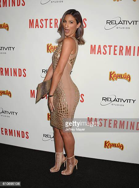 Singer/Twerker Lexy Panterra attends the premiere of Relativity Media's 'Masterminds' held at TCL Chinese Theatre on September 26 2016 in Hollywood...