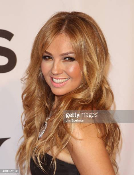 Singer/writer Thalia attends American Theatre Wing's 68th Annual Tony Awards at Radio City Music Hall on June 8 2014 in New York City