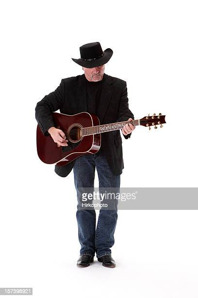 singing cowboy - country and western music stock pictures, royalty-free photos & images