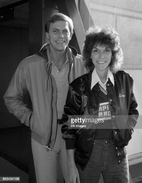 Singing duo Karen and Richard Carpenter after arriving at Heathrow Airport from Amsterdam to promote their new album and single