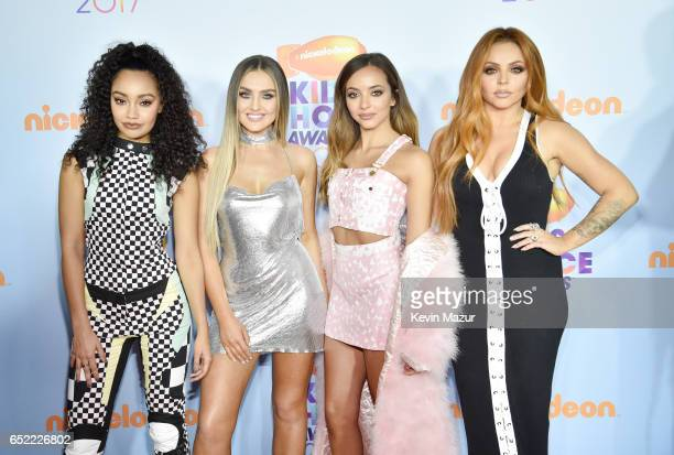 Singing group Little Mix at Nickelodeon's 2017 Kids' Choice Awards at USC Galen Center on March 11, 2017 in Los Angeles, California.