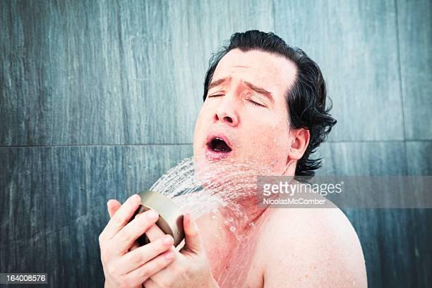 Singt in der Dusche