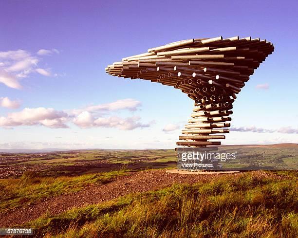 Singing Ringing Tree Crown Point United Kingdom Architect Tonkin Liu Ltd Singing Ringing Tree Burnley'S Panopticon Is Made Of Galvanised Steel Pipes...