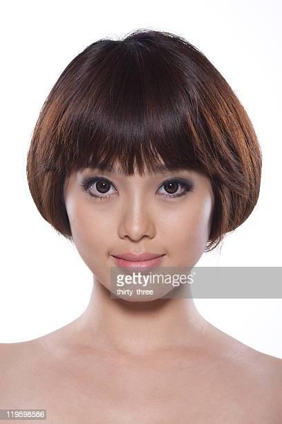 single asian young model portrait