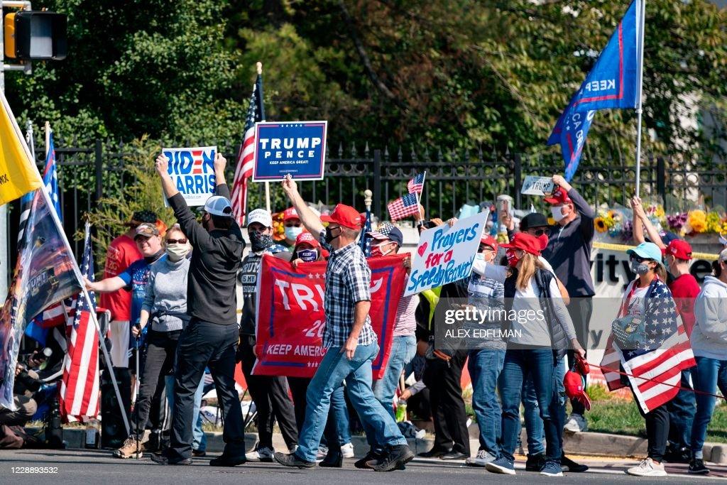 US-VOTE-TRUMP : News Photo